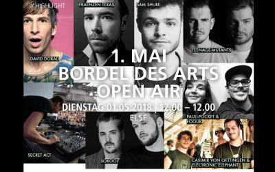 1. MAI BORDEL DES ARTS OPEN AIR