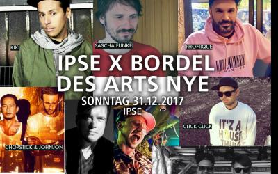 IPSE X BORDEL DES ARTS NYE 2018