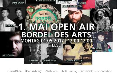 1. MAI BORDE DES ARTS OPEN AIR