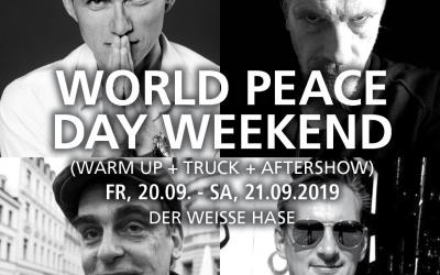 World Peace Day Weekend x Weißer Hase